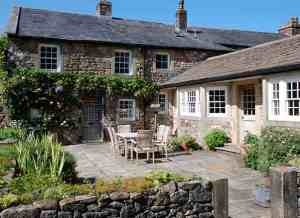 The garden at the Inn at Whitewell