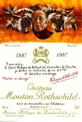 It's far from their greatest label, but who would want 1987 Mouton?