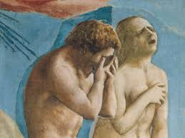 Detail The Expulsion from the Garden of Eden, Masaccio