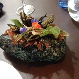 Fresh Seaweed and Molluscs Sunomona
