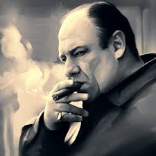 James Gandolfini as Tony Soprano. Sorely missed