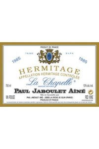Jaboult's Hermitage La Chapelle 1985 - maligned and underrated